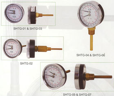 καλύτερος Πίνακας 80mm μετρητής Tridicator, μετρητής θερμοκρασίας για τους λέβητες ζεστού νερού